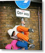 One Way Metal Print by Stephen Norris