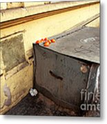 Oranges In Prague Metal Print by John Rizzuto