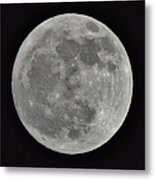 Our Moon Metal Print by Thomas  MacPherson Jr