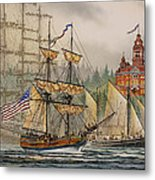 Our Seafaring Heritage Metal Print by James Williamson