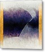 Ouroboros Three Blue, 2010 Metal Print