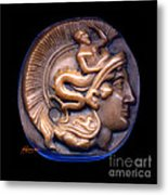 Pallas Athene Metal Print by Patricia Howitt