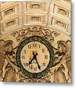 Paris Clocks 2 Metal Print by Andrew Fare
