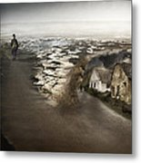 Paths Metal Print by Akos Kozari