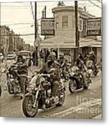 Pat's With Cycles Metal Print by Jack Paolini