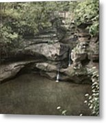 Peaceful Contemplation Metal Print