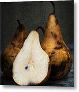 Pear Still Life Metal Print