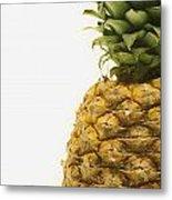 Pineapple Metal Print by Darren Greenwood