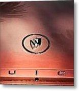 Pink Buick Metal Print by Merrick Imagery