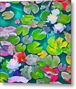 Pond Lily 5 Metal Print