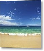 Poolenalena Beach Park Metal Print by Kicka Witte