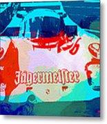 Porsche 956 Jagermeister Metal Print