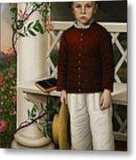 Portrait Of A Boy Metal Print by James B Read