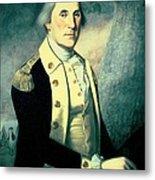Portrait Of George Washington Metal Print by James the Elder Peale