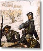 Pour La Victoire - W W 1 - 1918 Metal Print by Daniel Hagerman