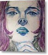 Purple Haze Metal Print by Agata Suchocka-Wachowska