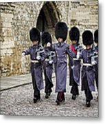 Queens Guard Metal Print by Heather Applegate