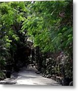 Queens Staircase Nassau Bahamas Metal Print by Keith Stokes