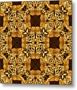 Rattlesnake Abstract 20130204p0 Metal Print by Wingsdomain Art and Photography