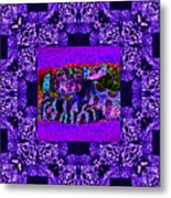 Rattlesnake Abstract Window 20130204m133 Metal Print by Wingsdomain Art and Photography