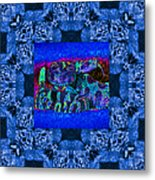 Rattlesnake Abstract Window 20130204m180 Metal Print