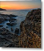 Red Rock Metal Print by Davorin Mance