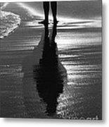 Reflection - Horseneck Beach Metal Print