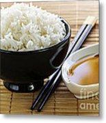 Rice Meal Metal Print by Elena Elisseeva