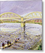 River Thames At Barnes Metal Print by Sarah Butterfield