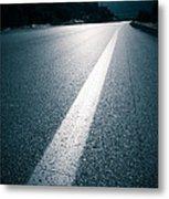 Road Metal Print by Boon Mee