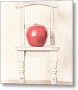 Romantic Apple Still Life Metal Print by Edward Fielding
