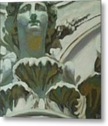 Rome Statue Metal Print by Khairzul MG