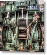 Royal Army Bulldozer Metal Print by Yhun Suarez