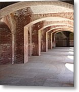 San Francisco Fort Point 5d21545 Metal Print by Wingsdomain Art and Photography