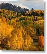 San Juan Mountains In Autumn Metal Print by Jetson Nguyen