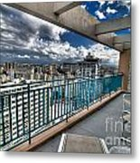 San Juan Puerto Rico Hdr Cityscape Metal Print by Amy Cicconi