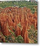 Sandstone Cliffs Metal Print by Liudmila Di