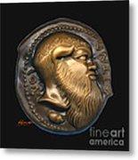 Satyr Or Silenos Metal Print by Patricia Howitt