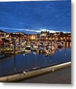 Scarborough Bay Metal Print by Dave Woodbridge