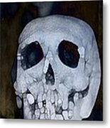 Scary Skull Metal Print by Dan Sproul