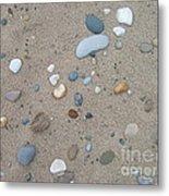 Scattered Pebbles Metal Print by Margaret McDermott