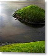 Seascape Seaweed On Rocks Metal Print by Dirk Ercken