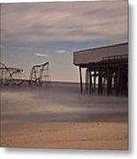 Seaside Carnage Metal Print by Richard Zoeller