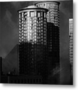 Seattle Towers Metal Print by Paul Bartoszek