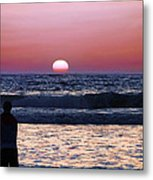 See The Sun Set Metal Print by Camille Lopez
