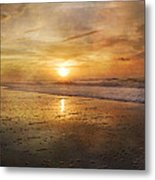 Serene Outlook  Metal Print by Betsy Knapp