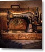 Sewing Machine  - Singer  Metal Print