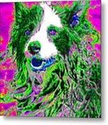 Sheep Dog 20130125v2 Metal Print