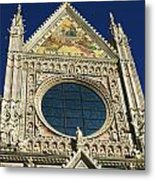 Sienna Cathedral Metal Print by Barbara Stellwagen