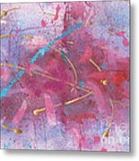 Sketchbook Explosion Metal Print by Ellen Howell